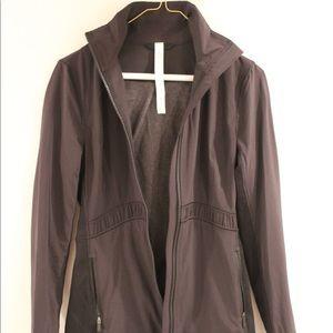 Lululemon Black Jacket Size 4
